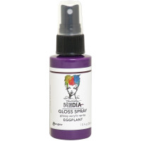 Dina Wakley Media Gloss Spray - Eggplant
