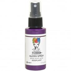 Dina Wakley Media Gloss Spray - Eggplant