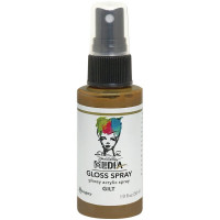 Dina Wakley Media Metallic Gloss Spray - Gilt