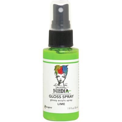 Dina Wakley Media Gloss Spray - Lime