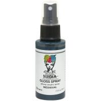 Dina Wakley Media Metallic Gloss Spray - Medieval