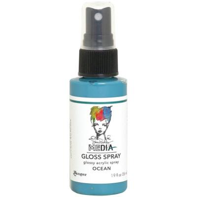 Dina Wakley Media Gloss Spray - Ocean