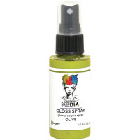 Dina Wakley Media Gloss Spray - Olive