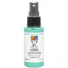 Dina Wakley Media Gloss Spray - Turquoise
