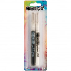 Dylusions Paint Pens - pack of black and white pens