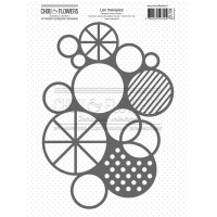 Chou & Flowers Journal Chromatique collection - Stencil Mask Circles