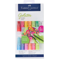 Faber-Castell Gelatos Colours Set, Brights