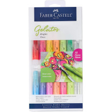 Faber-Castell Gelatos Colours Set, Brights