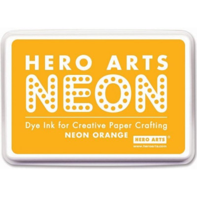 Hero Arts Neon dye ink - Orange