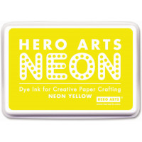 Hero Arts Neon dye ink - Yellow
