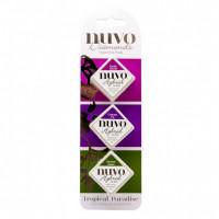 Nuvo Diamond hybrid ink pad trio - Tropical Paradise