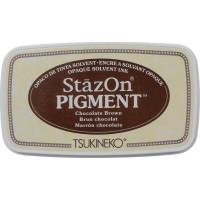 StazOn pigment ink - Chocolate Brown