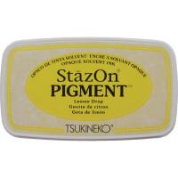 StazOn pigment ink - Lemon Drop