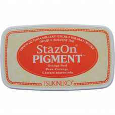 StazOn pigment ink - Orange Peel