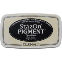 StazOn pigment ink - Piano Black
