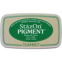 StazOn pigment ink - Shamrock Green