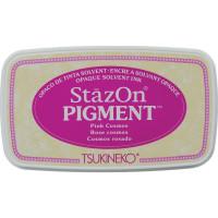 StazOn pigment ink - Pink Cosmos