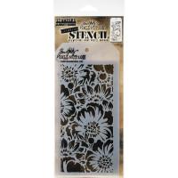 Tim Holtz Layering Stencil - Bouquet