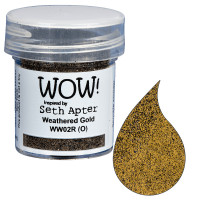 Wow! Embossing Powder by Seth Apter - Weathered Gold