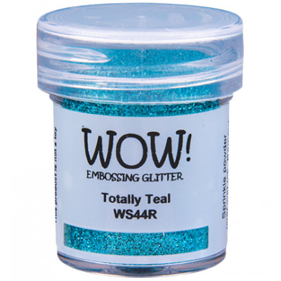 Wow! Embossing Glitter Powder - Totally Teal