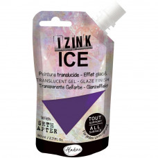 Aladine with Seth Apter - Izink ICE glaze - Arctic Grape