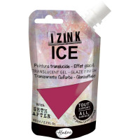 Aladine with Seth Apter - Izink ICE glaze - Freezia