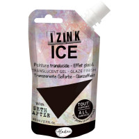 Aladine with Seth Apter - Izink ICE glaze - Iced Coffee