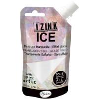 Aladine with Seth Apter - Izink ICE glaze - Snowball