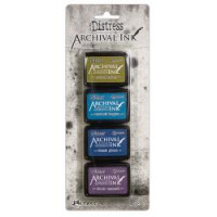 Ranger Tim Holtz distress archival mini ink pad kit #2