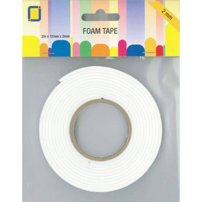 3D double-sided foam tape - 2mm thick