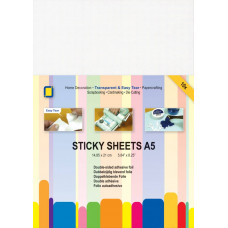 A5 double-sided sticky sheets x 10