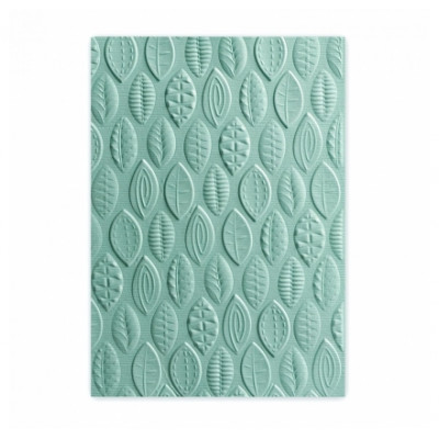 SIZZIX - 3D TEXTURED IMPRESSIONS - Leaves