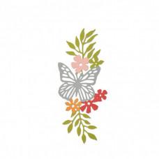 Sizzix Thinlits die meadow butterfly #2