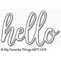 MFT Die-Namics die - Hello