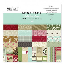 Kesi'art 'Collection Avent' bloc de papiers 15x15