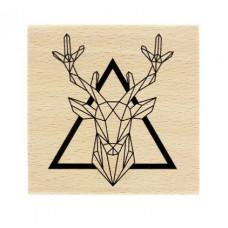 Roi de la Forêt -  Wood Mounted Florilège Stamp