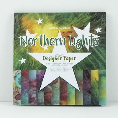 """8"""" x 8"""" Natural Wonders Collection - Northern Lights"""