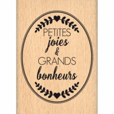 OVALE PETITES JOIES-  Wood Mounted Florilège Stamp