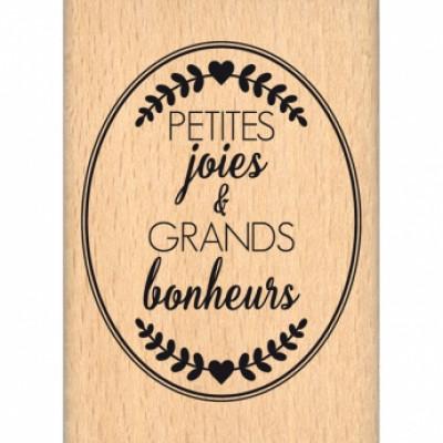 OVALE PETITES JOIES-  Wood Mounted Florilège Stamp