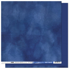 Collection Back to Basics A contre courant - Les Ateliers de Karine - Scrapbooking paper 9 Blue cyanotype