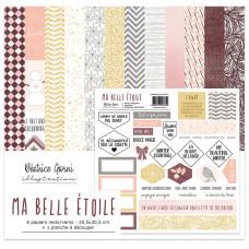 Ma belle étoile paper collection by Béatrice Garni