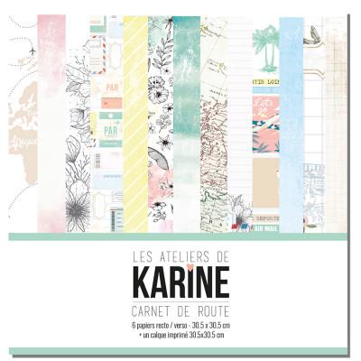 Collection Carnet de Route - Ateliers de Karine