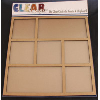 "Clear Scraps 12""x12"" Printer Tray Frame with acrylic cover"