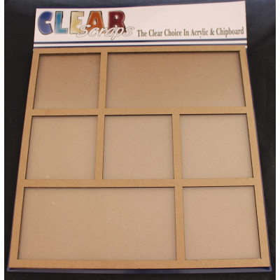 """Clear Scraps 12""""x12"""" Printer Tray Frame with acrylic cover"""