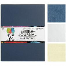 Dina Wakley Media Journal - Blue edition