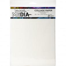 Dina Wakley Media Collage Tissue Paper - Plain