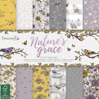 Dovecraft paper pack - Nature's Grace 6x6