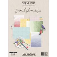 Chou & Flowers Journal Chromatique Collection - A4 papers Les Couleurs