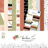 P'tit bonheur du jour scrapbooking paper collection - HA PI Little Fox