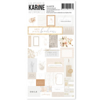 Label Stickers Intemporelle - Ateliers de Karine